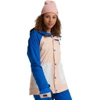 Burton Eastfall Jacket Lapis Blue/Peach Melba/Stout White