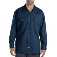 Dickies Long-Sleeve Work Shirt Herren-Hemd Dark Navy