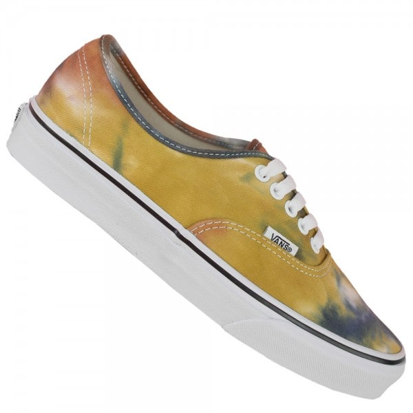 Vans U Authentic Damen-Sneaker (Tie Dye) Navy/Burnt Orange