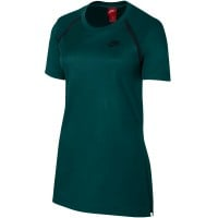 Nike Sportwear Bonded Tee Damen-Shirt Outdoor Green/Black