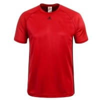 adidas Performance Base 3S Tee Herren-Laufshirt Red/Black