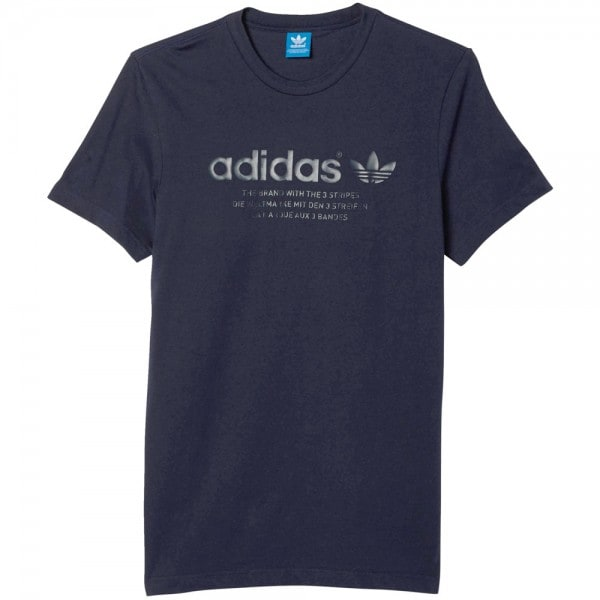 adidas Originals Fashion Graphic Tee Herren-Shirt Legend Ink