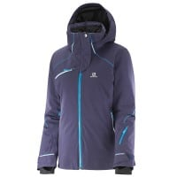 Salomon Speed Jacket Damen-Skijacke Nightshade Grey