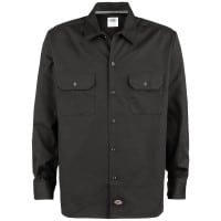 Dickies Long Sleeve Slim Work Shirt Hemd Black