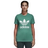 adidas Originals Trefoil Tee Damen-Shirt Future Hydro