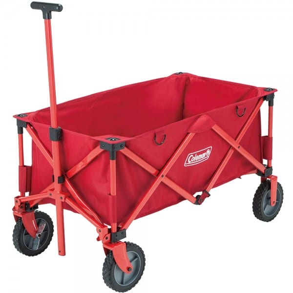 Coleman Camping Wagon Red