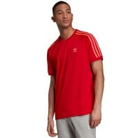 adidas Originals 3 Stripes Tee Scarlet
