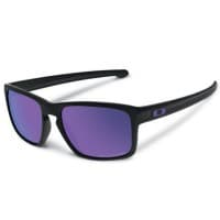 Oakley Sliver Matte Black/Violet Iridium Polarized