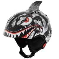 Giro Launch Plus Kinder-Skihelm Black/Grey/Tiger Shark