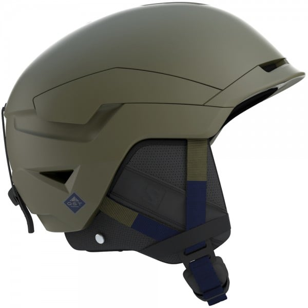 Salomon Quest Herren-Skihelm Olive Night