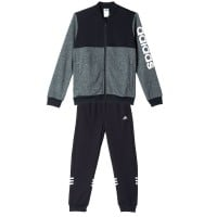 adidas Performance Tracksuit Knit Linear Closed Kinder-Training Grey/B