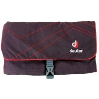 Deuter Wash Bag II Waschtasche Aubergine/Fire
