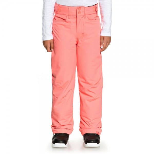 Roxy Backyard Girl Pant Kinder-Snowboardhose Shell Pink