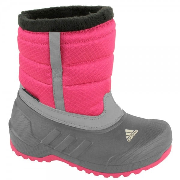 adidas Performance Winterfun Girl PL K Winterstiefel V22341 -Pink Grey