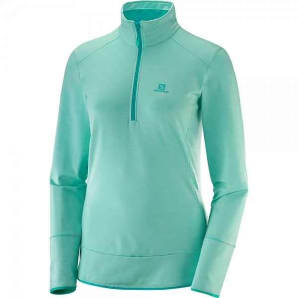 Salomon Discovery Funktionsshirt Yucca Heather