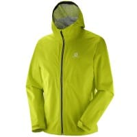 Salomon La Cote Flex 2-5 L Jacket M Herren-Outdoorjacke Lime Punch