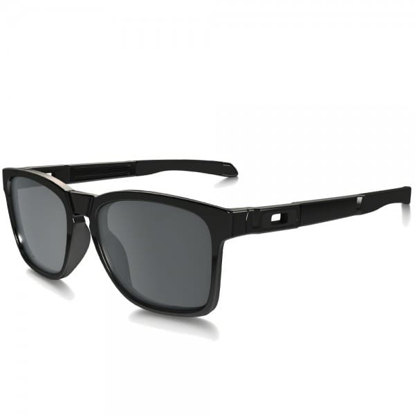 Oakley Catalyst Sonnenbrille Polished Black/Black Iridium
