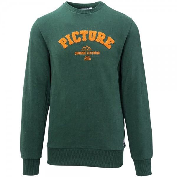 Picture Academy Sweat Herren-Pullover Dark Green