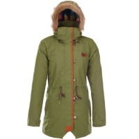 Picture Katniss Jacket Damen-Snowboardjacke Green Olive