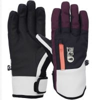 Picture Kakisa Gloves Damen-Funktionshandschuhe Plum