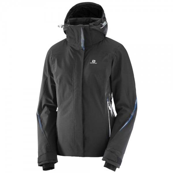 Salomon Brilliant Jacket W Damen-Snowboardjacke Black