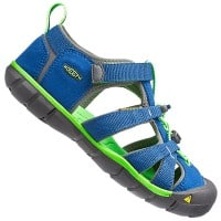 Keen Seacamp II CNX Junior Sandale True Blue/Jasmine Green