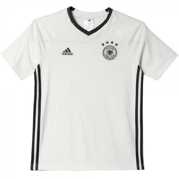 adidas Performance DFB Tee Staff Youth Kinder-Fussball-Shirt Off White