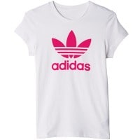 adidas Originals Trefoil Tee Kinder-Shirt White/Pink