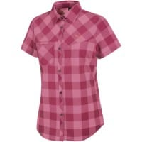 Salewa Puez Dry SS Shirt Damen-Bluse Chess Red/Onion