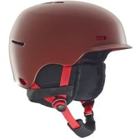 Anon Highwire Herren-Snowboardhelm Red