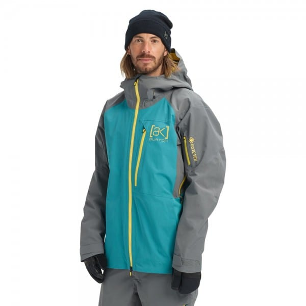 AK Burton Gore Cyclic Jacket Green-Blue Slate/Castlerock