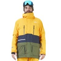 Picture Pure Jacket Yellow Dark Blue