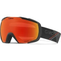 Giro Onset Goggle Skibrille Black Red Sport Tech/Vivid Amber