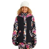 Burton Elodie Jacket True Black/Secret Garden