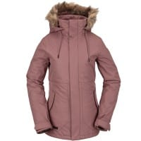 Volcom Fawn Insulated Jacket Rose Wood