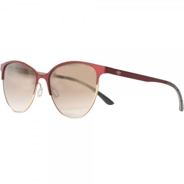 adidas Originals Schmetterlingsbrille Sonnenbrille Dark Red/Light Gold