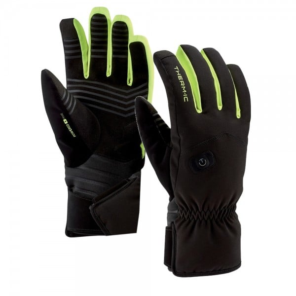 Therm-ic Power Gloves Light Plus Black/Lime
