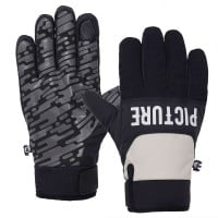 Picture Hudson Gloves Herren-Winterhandschuhe Black