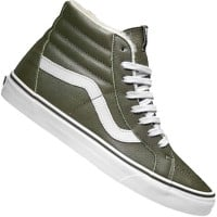 Vans Sk8-Hi Reissue (Leather/Fleece) Unisex-Sneaker Olive Night