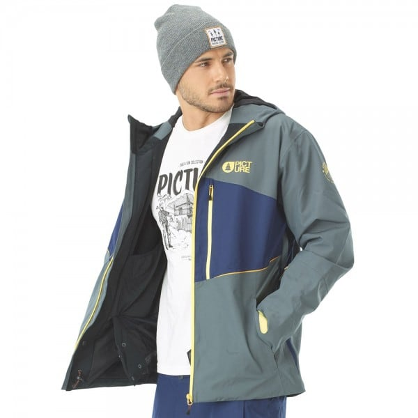 Picture Object Jacket Grey