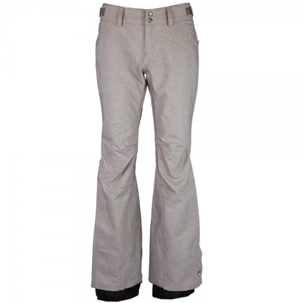 Oneill Friday Night Pant Damen-Snowpant Funghi Beige