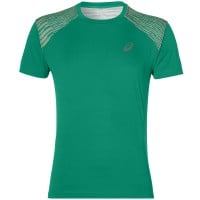 asics fuzeX Tee Herren-Laufshirt Jungle Green