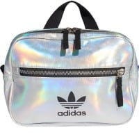 adidas Originals Mini Airliner PU Backpack Silver Metallic/Iridescent