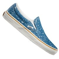 Vans Classic Slip On Unisex-Sneaker Denim Splatter Blue