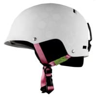 Giro TAG Snowboardhelm Youth Matte White Roses