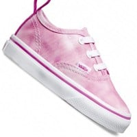 Vans T Authentic V Lace Kleinkind-Sneaker Tie Dye Rose