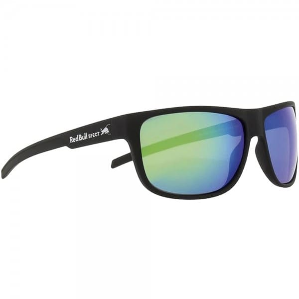 Red Bull Spect Eyewear Loom Sonnenbrille Matte Black/Smoke Green