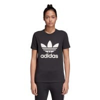 adidas Originals Trefoil Tee Damen-Shirt Black/White