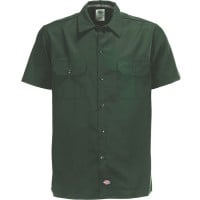 Dickies Short Sleeve Slim Work Shirt Herren-Hemd Olive Green