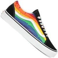 Vans Old Skool (Rainbow Drip) Black/Multi/True White